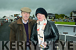 Jimmy Hickey,Listowel and Agnes Scanlon,Listowel at the Listowel Harvest Racing Festival on Sunday