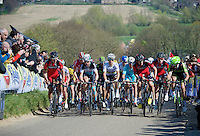 World Champion Michal Kwiatkowski (POL/Ettix-Quickstep) prominentely up front over Gulpenerberg<br /> <br /> 50th Amstel Gold Race 2015