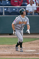 August 4, 2009: Boise Hawks' Robert Wagner at-bat during a Northwest League game against the Everett AquaSox at Everett Memorial Stadium in Everett, Washington.