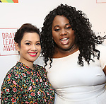 Lea Salonga and Alex Newell attends the 2018 Drama League Awards at the Marriot Marquis Times Square on May 18, 2018 in New York City.