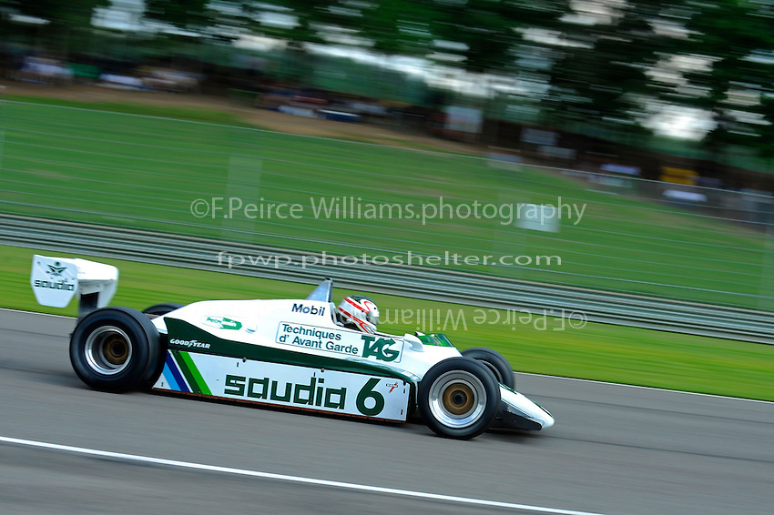 Michael Fitzgerald, #6 (ex-Keke Rosberg, 1982 Williams FW07C Grand Prix Car)