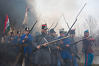 Battle of Tapiobicske re-enacted 2013