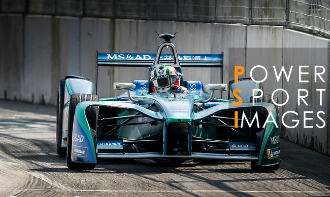 Antonio Felix da Costa of Portugal from MS & AD Andretti Formula E competes in the Formula E Qualifying Session 2 during the FIA Formula E Hong Kong E-Prix Round 2 at the Central Harbourfront Circuit on 03 December 2017 in Hong Kong, Hong Kong. Photo by Marcio Rodrigo Machado / Power Sport Images