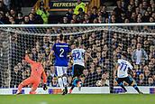 28th September 2017, Goodison Park, Liverpool, England; UEFA Europa League group stage, Everton versus Apollon Limassol; Adrián Sardinero of Apollon Limassol scores to make it 1-0 in the 12th minute