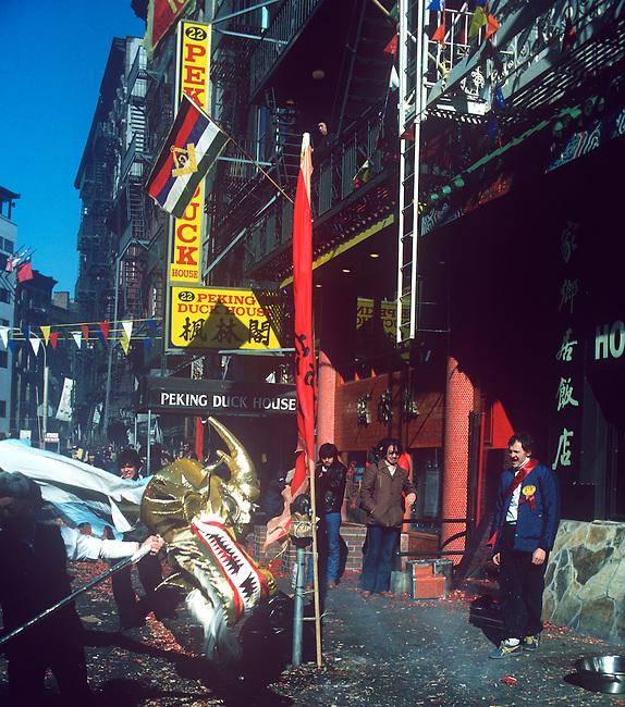 Chinese New Years, New York, New York