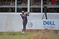 Jon Rahm (ESP) watches his tee shot on 16 during day 2 of the WGC Dell Match Play, at the Austin Country Club, Austin, Texas, USA. 3/28/2019.<br /> Picture: Golffile | Ken Murray<br /> <br /> <br /> All photo usage must carry mandatory copyright credit (© Golffile | Ken Murray)