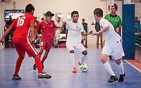 Torrance, CA - Saturday January 21, 2017: U.S. Soccer U-12 Development Academy Futsal Showcase at the LA Galaxy Soccer Center.