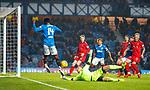 4.3.2018: Rangers v Falkirk Scottish Cup QF<br /> Robbie Thomson saves from Joe Dodoo