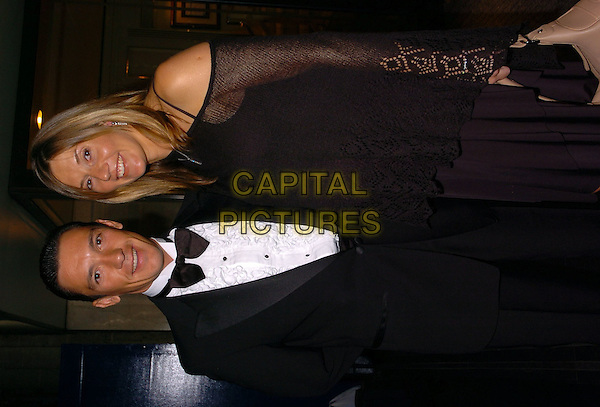 FRANKIE DETORI & WIFE.The Lesters Equestrian Awards, London, .8th January 2005..half length pregnant married.Ref: CAN.www.capitalpictures.com.sales@capitalpictures.com.©Capital Pictures.