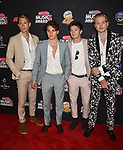HOLLYWOOD, CA - JUNE 22: The Vamps arrives at the 2018 Radio Disney Music Awards at Loews Hollywood Hotel on June 22, 2018 in Hollywood, California.