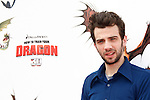 US actor/cast member Jay Baruchel arrives at the USA/LA premiere of Dreamworks Animation's 'How To Train Your Dragon' held at the Gibson Amphitheatre at Universal City in Los Angeles on March 21, 2010. The movie is set in the mythical world of burly Vikings and wild dragons and will be released in the US March 26, 2010..Photo by Nina Prommer/Milestone Photo