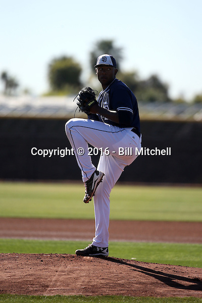 Austin Smith - San Diego Padres 2016 spring training (Bill Mitchell)