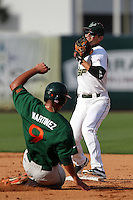 "University of South Florida Luis Llerena #2 during a game vs. the Miami Hurricanes in the ""Florida Four"" at George M. Steinbrenner Field in Tampa, Florida;  March 1, 2011.  USF defeated Miami 4-2.  Photo By Mike Janes/Four Seam Images"