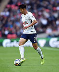 Son Heung-Min of Tottenham Hotspur during the premier league match at the Wembley Stadium, London. Picture date 16th September 2017. Picture credit should read: Robin Parker/Sportimage
