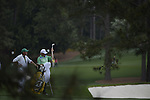 AUGUSTA, GA - APRIL 11: Fred Couples prepares to hit onto the green during the First Round of the 2013 Masters Golf Tournament at Augusta National Golf Club on April 10in Augusta, Georgia. (Photo by Donald Miralle) *** Local Caption ***