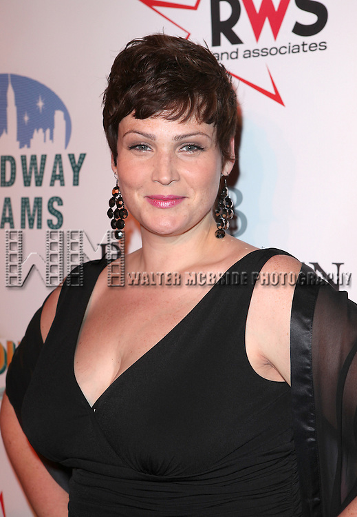 Lisa Howard  attending the Broadway Dreams Foundation's 'Champagne & Caroling Gala' at Celsius at Bryant Park, New York on December 10, 2012