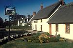 The Village Pub. The Black Bull. Etal, Northumberland. England.