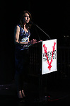 Sarah Stern on stage during the Vineyard Theatre Gala 2018 honoring Michael Mayer at the Edison Ballroom on May 14, 2018 in New York City.