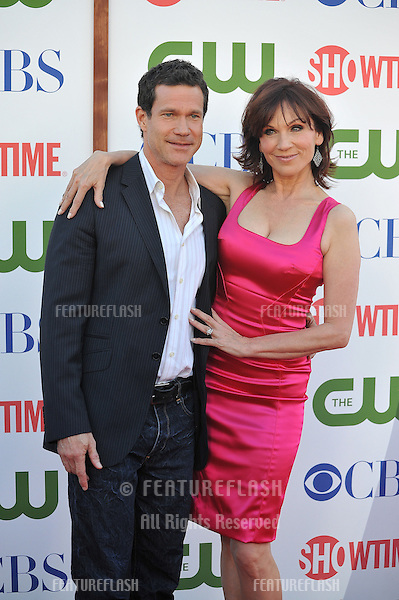 Marilu Henner & Dylan Walsh at the CBS Summer 2011 TCA Party at The Pagoda, Beverly Hills..August 3, 2011  Los Angeles, CA.Picture: Paul Smith / Featureflash
