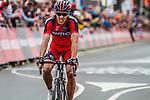 Finish 1st Philippe Gilbert (BEL,BMC) at Valkenburg, Amstel Gold Race, 20th April 2014, Photo by Thomas van Bracht / www.pelotonphotos.com