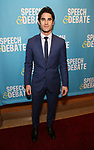 Darren Criss attends Broadway Red Carpet Premiere of 'Speech & Debate'  at the American Airlines Theatre on April 2, 2017 in New York City.