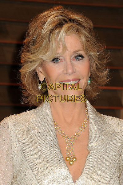 02 March 2014 - West Hollywood, California - Jane Fonda. 2014 Vanity Fair Oscar Party following the 86th Academy Awards held at Sunset Plaza. <br /> CAP/ADM/BP<br /> &copy;Byron Purvis/AdMedia/Capital Pictures