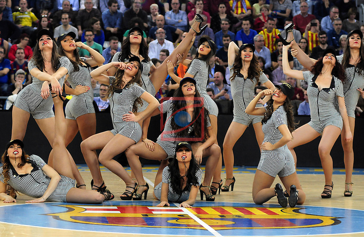Euroleague Basketball 2014/15-Top 16- Round 13.<br /> FC Barcelona vs Real Madrid: 85-80.<br /> Dream Cheers.