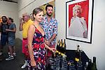 SANTA MONICA - JUN 25: Katie Hodges, Tim Bathurstat the David Bromley LA Women Art Exhibition opening reception at the Andrew Weiss Gallery on June 25, 2016 in Santa Monica, California