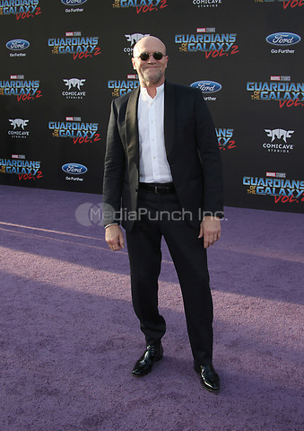 """HOLLYWOOD, CA - April 19: Michael Rooker, At Premiere Of Disney And Marvel's """"Guardians Of The Galaxy Vol. 2"""" At The Dolby Theatre  In California on April 19, 2017. Credit: FS/MediaPunch"""