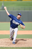 Josh Wall - Los Angeles Dodgers - 2010 Instructional League.Photo by:  Bill Mitchell/Four Seam Images..