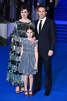 "Emily Mortimer, Alessandro Nivola and daughter May<br /> arriving for the ""Mary Poppins Returns"" premiere at the Royal Albert Hall, London<br /> <br /> ©Ash Knotek  D3467  12/12/2018"