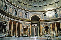 Italy: Rome--The Pantheon, Rotunda.