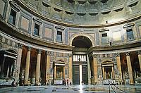 Italy: Rome--The Pantheon, Rotunda.