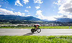 Ivo Oliveira (POR) in action during the Men's Under-23 Individual Time Trial of the 2018 UCI Road World Championships running 20km around Innsbruck, Innsbruck-Tirol, Austria 2018. 24th September 2018.<br /> Picture: Innsbruck-Tirol 2018/Jan Hetfleisch | Cyclefile<br /> <br /> <br /> All photos usage must carry mandatory copyright credit (&copy; Cyclefile | Innsbruck-Tirol 2018/Jan Hetfleisch)