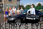 Front  Gordon Lunn, Aherns BMW, Back  l-r  Roberta Kneeshaw, Chairperson, Nuala Finnegan, Lady Captain John Finnegan, Cliona Ruttledge, Rosemarie Broderick, PRO, Launch the Tralee Tennis Club's First BMW Club Championship.  Sponsored by BMW and Aherns, Castleisland on the  23rd to 27th September