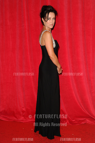 Elisabeth Dermot Walsh arriving for the 2014 British Soap Awards, at the Hackney Empire, London. 24/05/2014 Picture by: Steve Vas / Featureflash