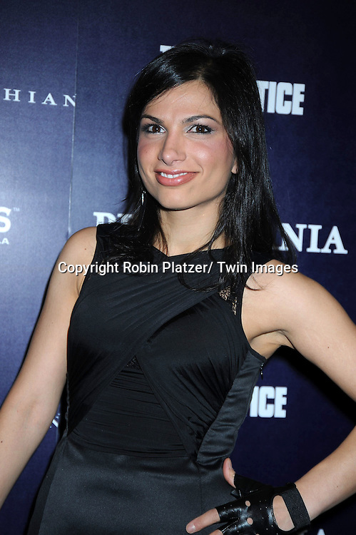 "Mahsa attending The party celebrating Perfumania and Kim Kardashian's appearance on NBC's ""The Apprentice"".on November 10, 2010 in New York City."