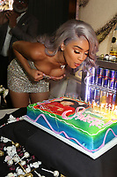 HOLLYWOOD, CA - JULY 2, 2018 Saweetie celebrates her &quot;High Maintenance&quot; birthday party, July 2, 2018 at KATSUYA in Hollywood, California. <br /> CAP/MPI/WG<br /> &copy;WG/MPI/Capital Pictures