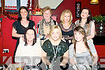 Enjoying Womens Christmas at Fitzgerald's Restaurant on Friday night last were in front Mary O@Connor, Mairead Somers & Megan Galvin. Back :Lisa O'Connor, Eileen Breen, Catherine galvin & Mary Flynn.
