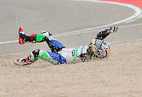 Tomoyoshi Koyama Accident At qualifying round Grand Prix Motorland 2012