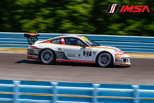 30 June-2 July, 2016, Watkins Glen, New York USA<br /> 27, Valerie Chiasson, CAN, Platinum, 2014 Porsche<br /> &copy;2016, Jake Galstad<br /> LAT Photo USA