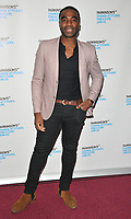 Ore Oduba at the Parkinson's UK presents Symfunny No. 2, Royal Albert Hall, Kensington Gore, London, England, UK, on Wednesday 19 April 2017.<br /> CAP/CAN<br /> &copy;CAN/Capital Pictures