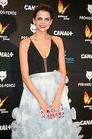 Macarena gomez attends the Feroz Cinema Awards 2015 at Las Ventas, Madrid,  Spain. January 25, 2015.(ALTERPHOTOS/)Carlos Dafonte) /NortePhoto<br /> <br /> nortePhoto.com