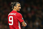 Zlatan Ibrahimovic of Manchester United during the UEFA Europa League match at Old Trafford Stadium, Manchester. Picture date: September 29th, 2016. Pic Matt McNulty Sportimage