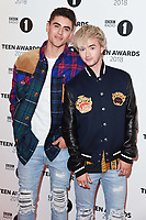 Jack and Jack<br /> arriving for the Radio 1 Teen Awards 2018 at Wembley Stadium, London<br /> <br /> ©Ash Knotek  D3454  21/10/2018
