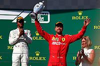 #44 Lewis Hamilton Mercedes AMG Team  <br /> #05 Sebastian Vettel, Scuderia Ferrari. Hungarian GP, Budapest  2-4 August 2019<br /> Budapest 04/08/2019 GP Hungary <br /> Formula 1 Championship 2019 Race  <br /> Photo Federico Basile / Insidefoto