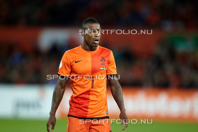Nederland, Rotterdam, 12 oktober  2012.Seizoen 2012-2013.WK 2014 Kwalificatie.Nederland-Andorra.Ruben Schaken van Oranje in actie