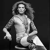 DAVID LEE ROTH, STUDIO, VAN HALEN 2, 1978, NEIL ZLOZOWER
