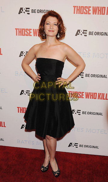 LOS ANGELES, CA- FEBRUARY 26: Actress Kerry O'Malley arrives at the premiere party for A&amp;E's Season 2 of 'Bates Motel' and the series premiere of 'Those Who Kill' at Warwick on February 26, 2014 in Los Angeles, California.<br /> CAP/ROT/TM<br /> &copy;Tony Michaels/Roth Stock/Capital Pictures