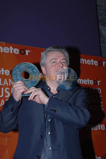 Bill Whelan at the  Meteor Awards at the Point Depot in Dublin.Photo NEWSFILE/Colin Bell..(Photo credit should read Colin Bell/NEWSFILE)...This Picture has been sent you under the condtions enclosed by:.Newsfile Ltd..the Studio,.Millmount Abbey,.Drogheda,.Co Meath..Ireland..Tel: +353(0)41-9871240.Fax: +353(0)41-9871260.GSM: +353(0)86-2500958.email: pictures@newsfile.ie.www.newsfile.ie.FTP: 193.120.102.198..This picture is from Fran Caffrey@newsfile.ie